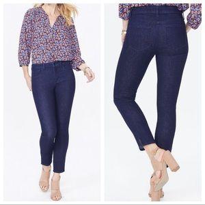 NYDJ Ami Skinny Ankle Dark Wash Lift Tuck Jeans